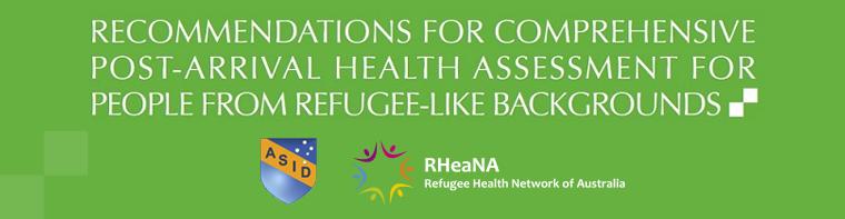 Mental Health Australian Refugee Health